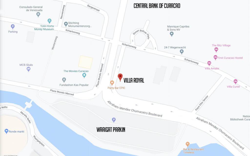 Villa Royal Route Navigation Address