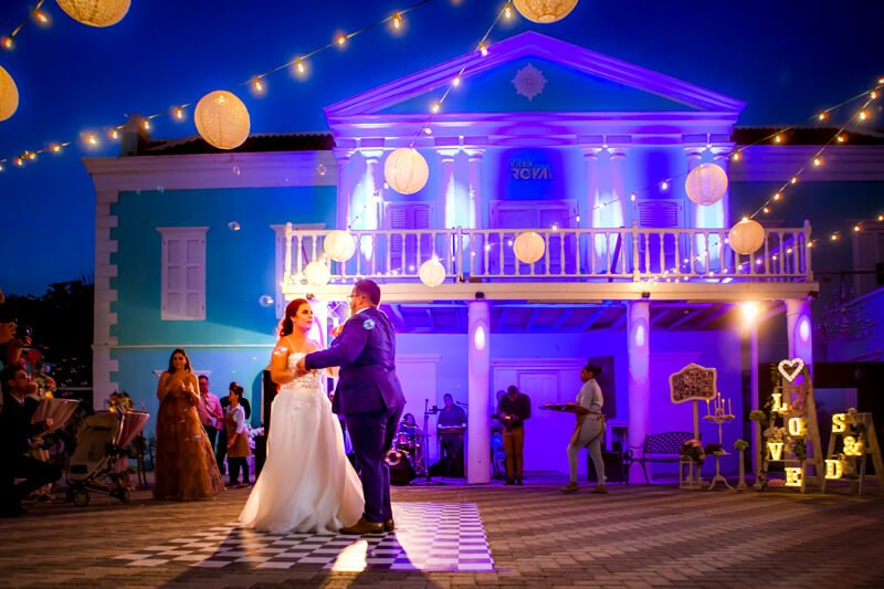 Wedding location Curacao - Villa Royal