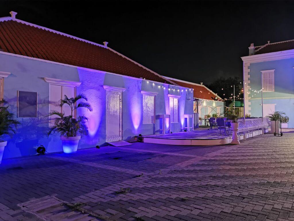 Feest locatie op Curacao